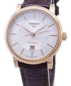 Tissot T  - クラシックカーソンT122.207.36.031.00 T1222073603100自動巻きレディースウォッチ