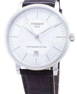 Tissot T-Classic Powermatic 80 T122.407.16.031.00 T1224071603100自動巻きメンズウォッチ
