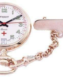 ティソTポケットペンダント小柄Infirmiere T81.7.223.92 T81722392クォーツ懐中時計