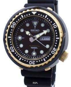 セイコープロスペックスプロフェッショナルS23626 S23626J1 S23626Jチタン限定版ダイバーの1000 Mメンズ腕時計