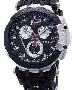 ティソTレースホルヘロレンソT115.417.27.057.00 T1154172705700限定版クロノグラフメンズ腕時計
