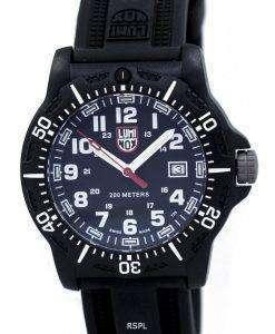ルミノックスブラックOPS 8880シリーズXL.8881クォーツ200 Mメンズ腕時計