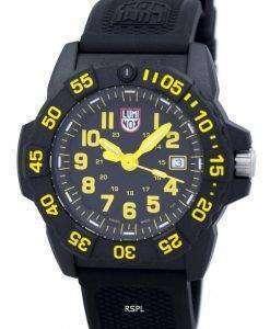 ルミノックスネイビーシール3500シリーズダイバーのXS.3505クォーツ200 Mメンズ腕時計