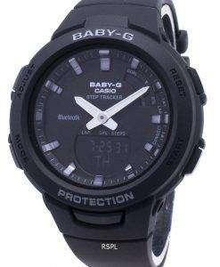カシオBaby-G G-SQUAD BSA-B100-1AステップトラッカーBluetoothレディース腕時計