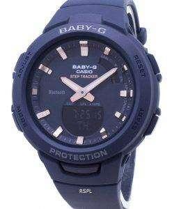 カシオBaby-G G-SQUAD BSA-B100-2AステップトラッカーBluetoothレディース腕時計