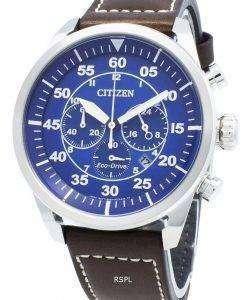 シチズンエコドライブCA4210-41Lクロノグラフアナログメンズ腕時計