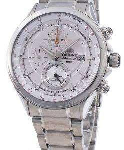 オリエントピラミッドCTD0T006W TD0T006タキメータークォーツメンズ腕時計