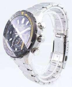 カシオエディフィスEFS-S550DB-1AV EFSS550DB-1AVクロノグラフソーラーメンズ腕時計