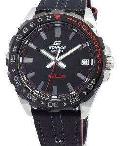 カシオエディフィスEFV-120BL-1AV EFV120BL-1AVクォーツメンズ腕時計