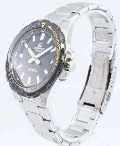 カシオエディフィスEFV-120DB-1AV EFV120DB-1AVクォーツメンズ腕時計