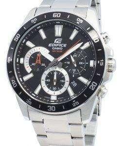 カシオエディフィスEFV-570D-1AV EFV570D-1AVクロノグラフクォーツメンズ腕時計