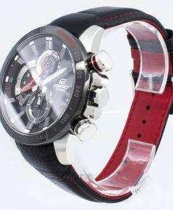 カシオエディフィスEQB-800BL-1A EQB800BL-1Aタキメーターソーラーメンズ腕時計
