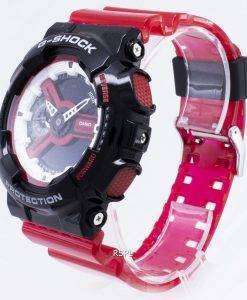 カシオGショックGA-110RB-1A GA110RB-1A耐衝撃性クォーツ200 Mメンズ腕時計