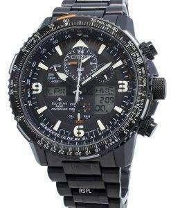シチズンプロマスターJY8085-81Eエコドライブラジコンアナログデジタル200 Mメンズ腕時計