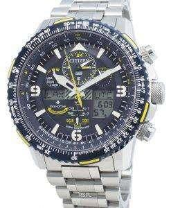シチズンプロマスターJY8088-83Lラジコンエコドライブ200 Mメンズ腕時計