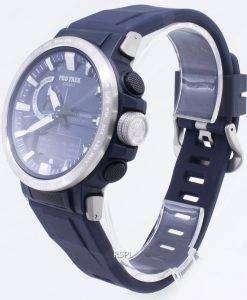 カシオプロトレックPRW-60-2A PRW60-2Aトリプルセンサーマルチバンド6タフソーラーメンズ腕時計