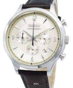 セイコークロノグラフSSB341P SSB341P1 SSB341アナログクオーツメンズ腕時計