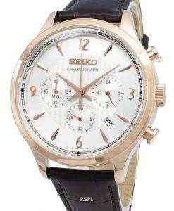 セイコークロノグラフSSB342P SSB342P1 SSB342アナログクオーツメンズ腕時計