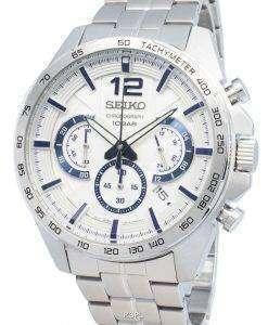セイコークロノグラフSSB343P SSB343P1 SSB343タキメーターアナログクオーツメンズ腕時計