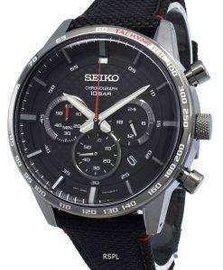 セイコークロノグラフSSB359P SSB359P1 SSB359タキメータークォーツメンズ腕時計