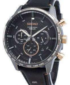 セイコークロノグラフSSB361P SSB361P1 SSB361タキメータークォーツメンズ腕時計