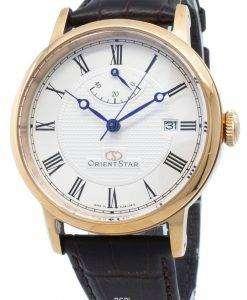 改装されたオリエントスターエレガントSEL09001W EL09001W自動パワーリザーブメンズ腕時計