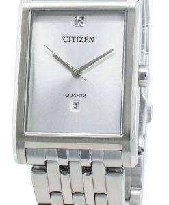 シチズンクォーツBH3001-57Aダイヤモンドアクセントメンズ腕時計