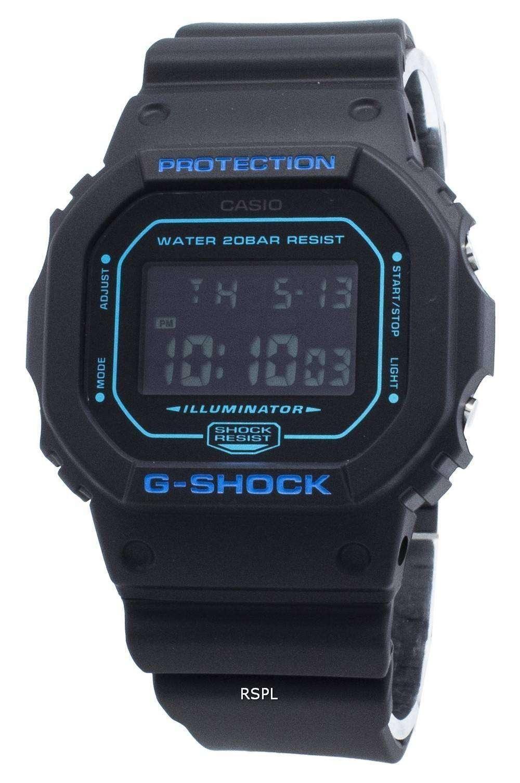 カシオG-ショックDW-5600BBM-1 DW5600BBM-1アラームクォーツメンズ腕時計