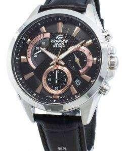 カシオエディフィスEFV-580L-1AV EFV580L-1AVクォーツクロノグラフメンズ腕時計