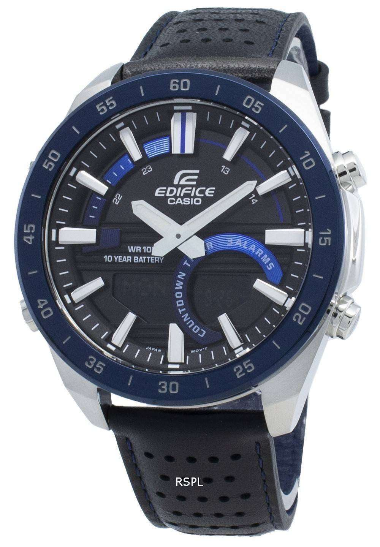 カシオエディフィスERA-120BL-2AV ERA120BL-2AVクロノグラフクォーツメンズ腕時計