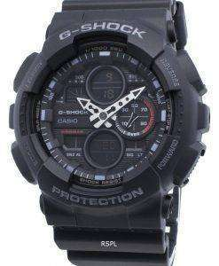 カシオG-ショックGA-140-1A1 GA140-1A1クォーツワールドタイムメンズ腕時計
