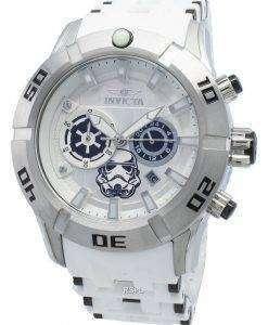 インビクタスター・ウォーズストームトルーパー26552クロノグラフクォーツ100 Mメンズ腕時計