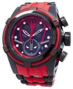 インビクタマーベルデッドプール27152クロノグラフ自動200 Mメンズ腕時計