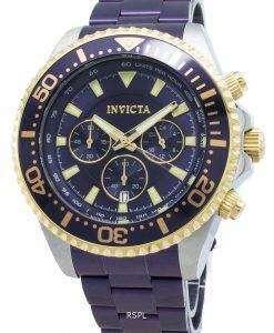 インビクタプロダイバー27479クロノグラフクォーツ200 Mメンズ腕時計