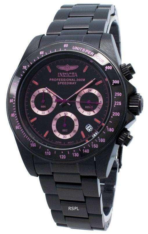 インビクタスピードウェイ27773タキメータークォーツ200 Mメンズ腕時計