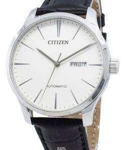 シチズンNH8350-08B自動メンズ腕時計