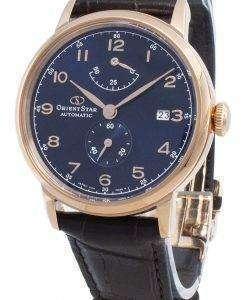 オリエントスターRE-AW0005L00B自動パワーリザーブメンズ腕時計