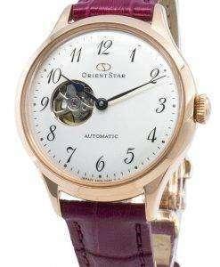 オリエントスターRE-ND0006S00B自動半スケルトンレディース腕時計