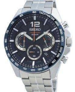 セイコークロノグラフSSB345 SSB345P1 SSB345Pタキメータークォーツメンズ腕時計