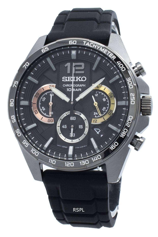 セイコークロノグラフSSB349 SSB349P1 SSB349Pタキメータークォーツメンズ腕時計