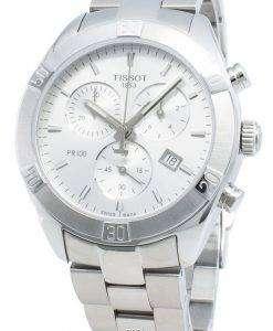 ティソTクラシックT101.917.11.031.00 T1019171103100クォーツクロノグラフレディース腕時計