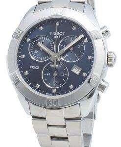 ティソTクラシックT101.917.11.046.00 T1019171104600クォーツクロノグラフレディース腕時計
