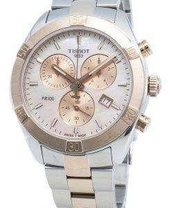 ティソT-Classic T101.917.22.151.00 T1019172215100クォーツクロノグラフレディース腕時計