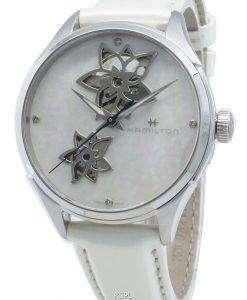 ハミルトンジャズマスターH32115892ダイヤモンドアクセント自動レディース腕時計