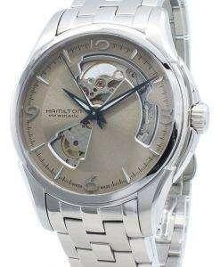 ハミルトンジャズマスターH32565121オープンハート自動メンズ腕時計