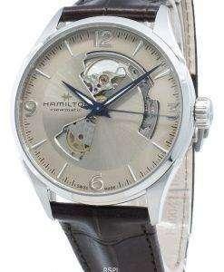 ハミルトンジャズマスターH32705521オープンハート自動メンズ腕時計
