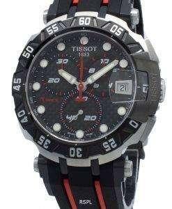 ティソTレースMotoGP T092.417.27.201.00 T0924172720100クロノグラフクォーツメンズ腕時計