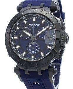 ティソTレースクロノグラフT115.417.37.041.00 T1154173704100クォーツメンズ腕時計