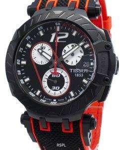 ティソTレースMotoGP T115.417.37.057.01 T1154173705701タキメータークォーツメンズ腕時計