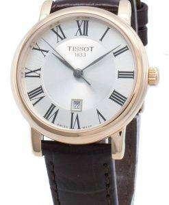 ティソカーソンプレミアムT122.210.36.033.00 T1222103603300クォーツレディース腕時計